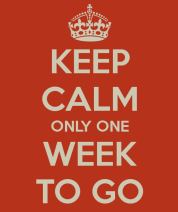 Image result for keep calm school opens in one week